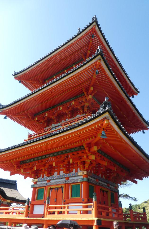 De pagode van de Kiyomizu-dera