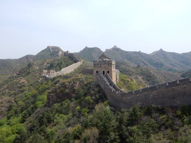 De Chinese Muur blijft indrukwekkend