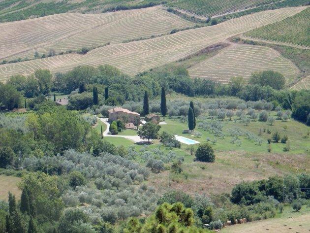 Umbrië net ietsje minder gepolijst dan Toscane.
