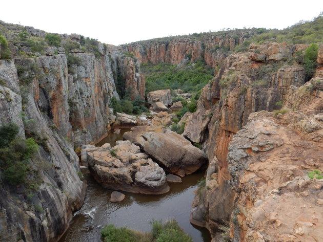 Wandeling vlakbij de bekende Blyde River Canyon in Zuid Afrika