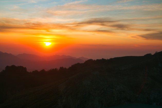 Spectaculaire sunrise