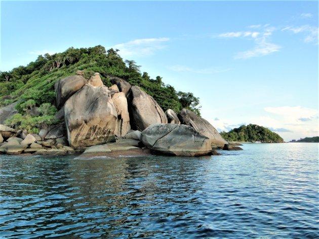 Foto 6000 De Similan eilandengroep.