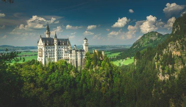Neuschwanstein en zijn omgeving