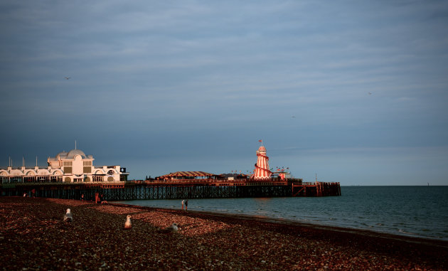 The South Parade Pier in Southsea