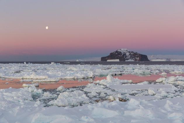 Nieuwjaar vieren in Antarctica