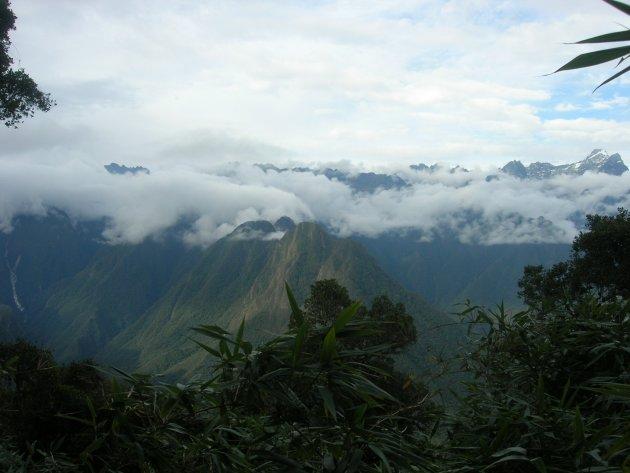 De uitgestrektheid van de Andes