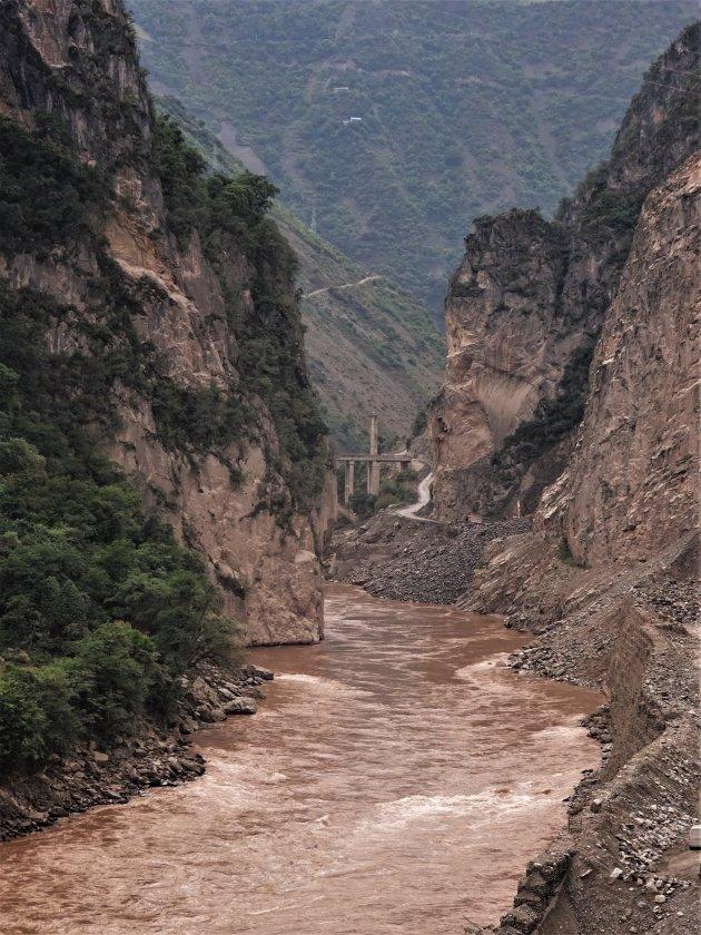 Kloof van de Mekong-rivier