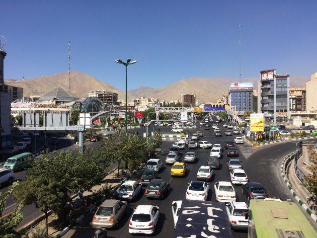 Impressie van Teheran