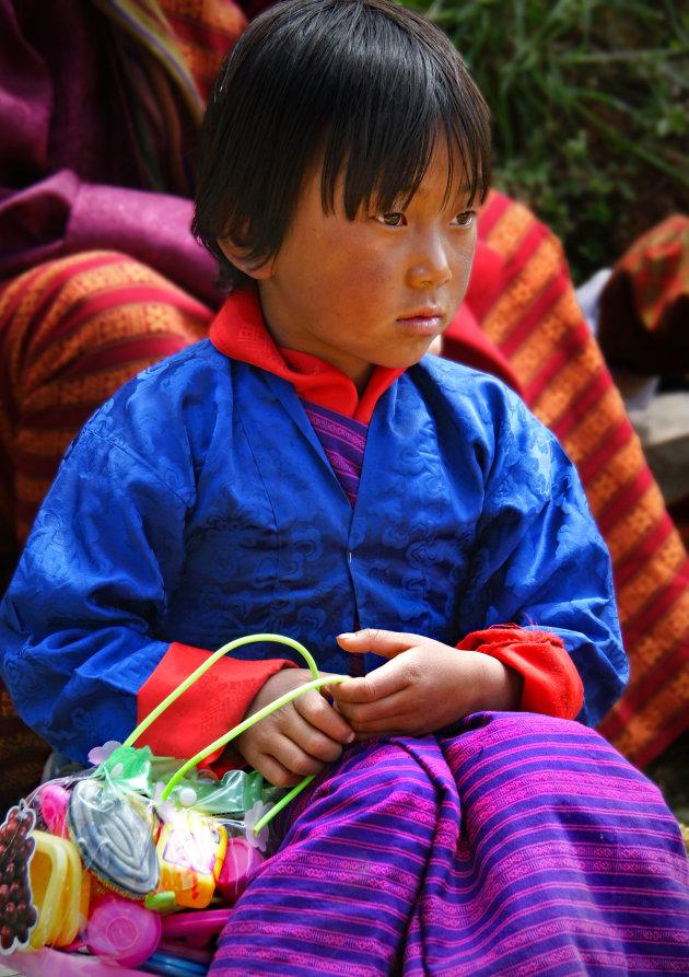 Help het Nationaal Geluk een handje bij een Tshechu