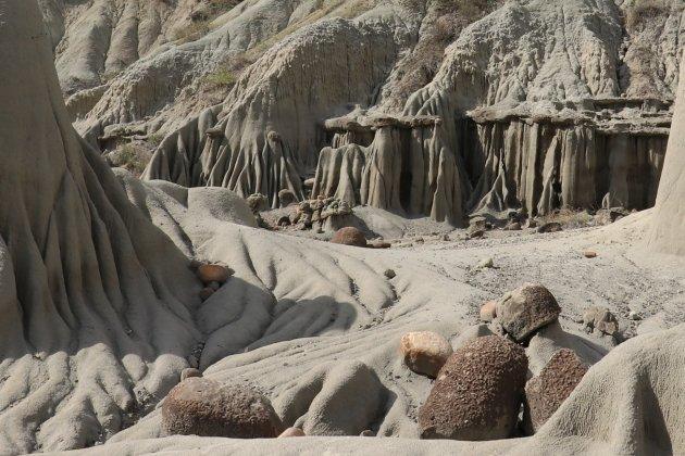 vormen in de woestijn