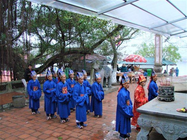 Religieuze ceremonie.