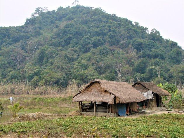 Boerderij op Cat Ba eiland.