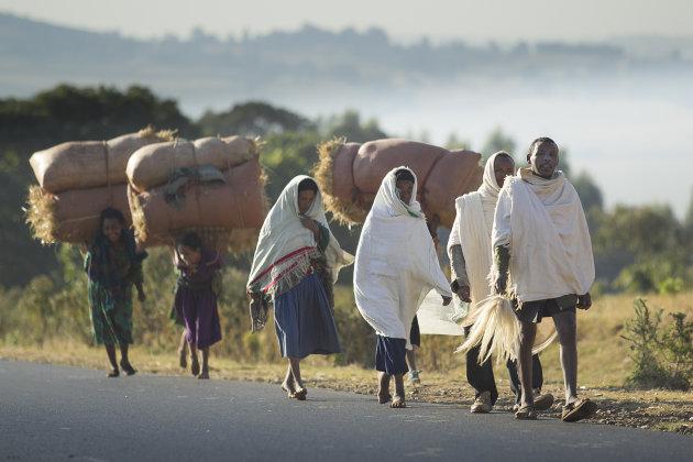 Ethiopië Onderweg