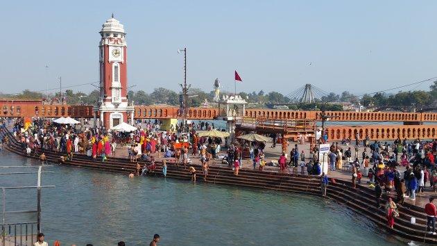 Haridwar, een heilige stad