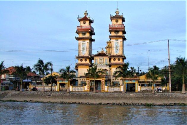 Cao Dai Tempel.