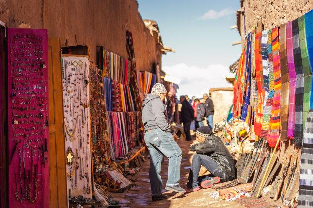 Straatje in Ait-Ben-Haddou