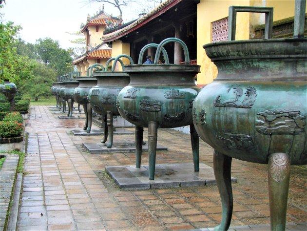 Het Thai Hao Paleis in Hué.