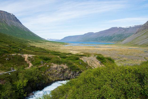 Onverwacht mooi uitzicht in de westfjorden van IJsland