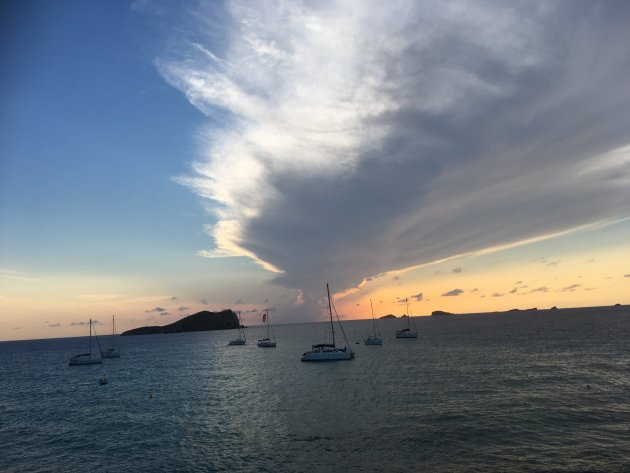 Sunset op Ibiza