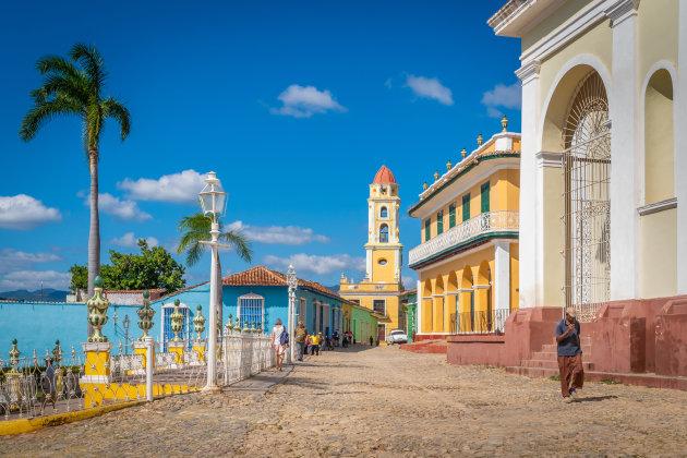 Het oude centrum van Trinidad