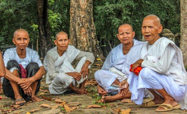 Vrouwelijke boeddhistische monniken