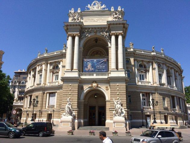 Het mooiste gebouw in Odesa