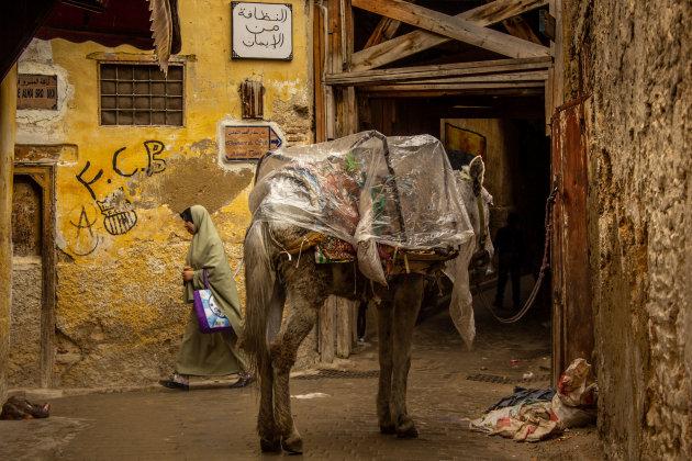 Steegje in Fez.