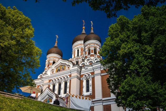 Alexander Nevski-kathedraal in Tallinn