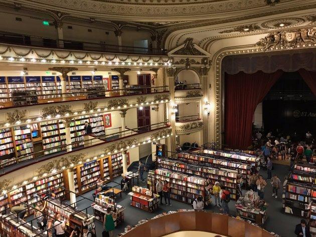 De mooiste boekwinkel van Buenos Aires