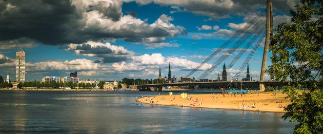 Strand in Riga