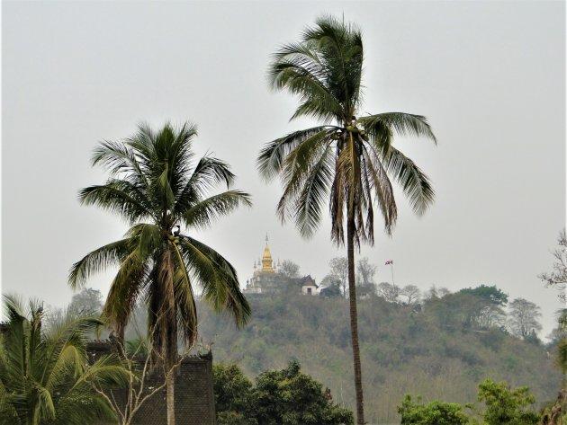 Phousi Hill in Luang Prabang.