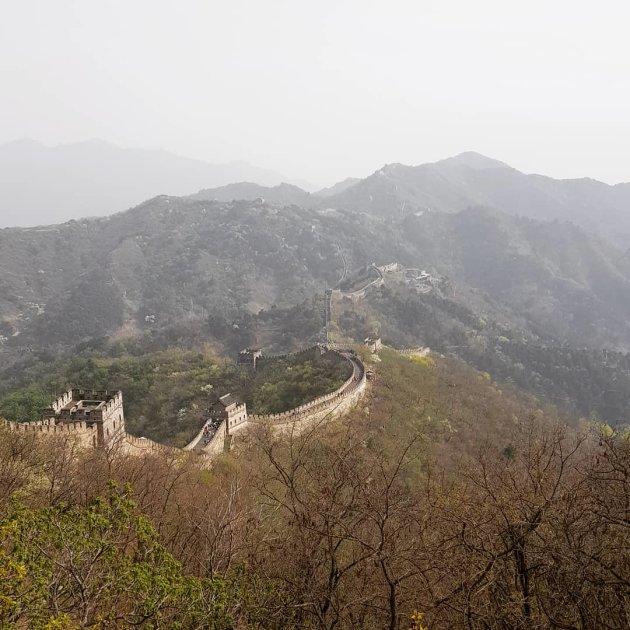 Chinese Muur een onvergetelijke ervaring