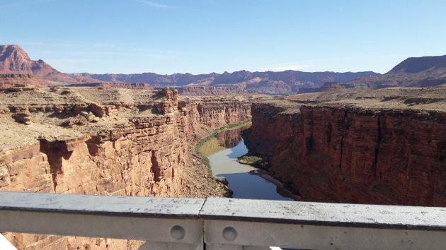 Navajo Bridges, vanaf de brug