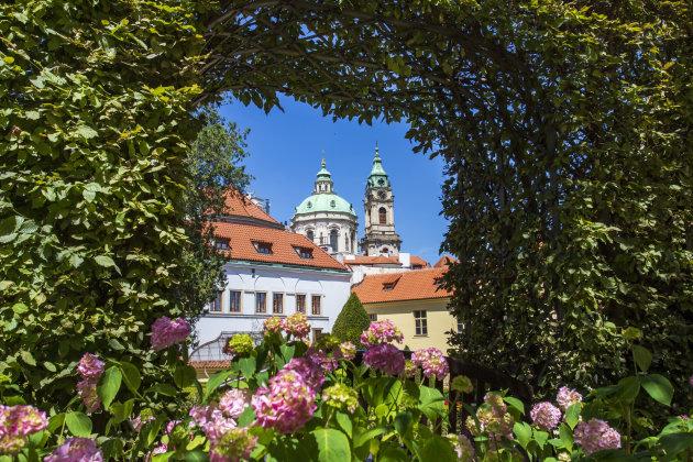 Doorkijkje op Praag