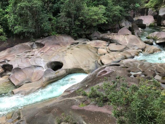 Babinda Boulders vlakbij Cairns