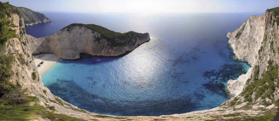 Navagio in Griekenland