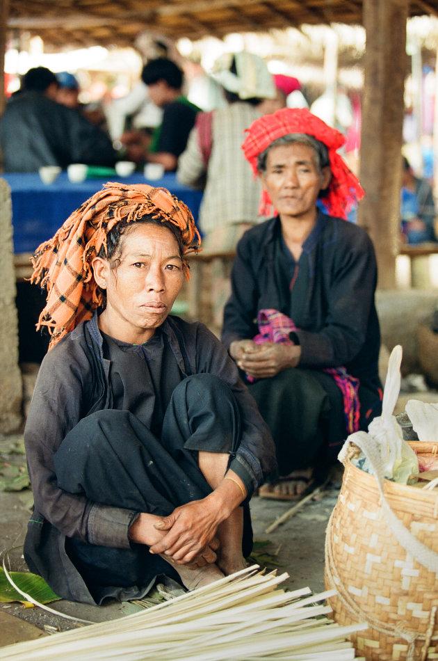 Birma Inle Lake Markt
