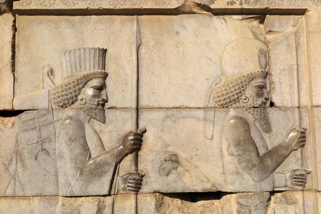 Bas-reliëfs in Persepolis
