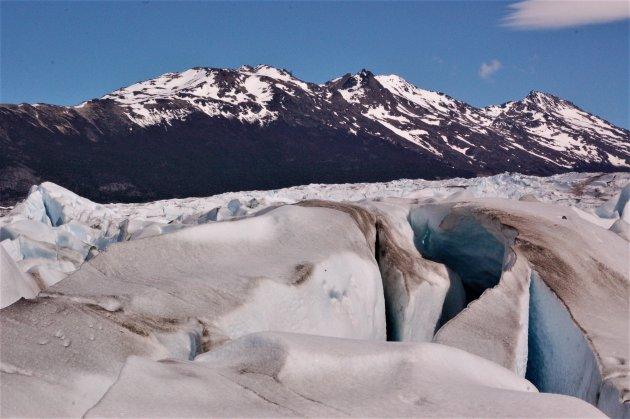 hike over de gletsjer