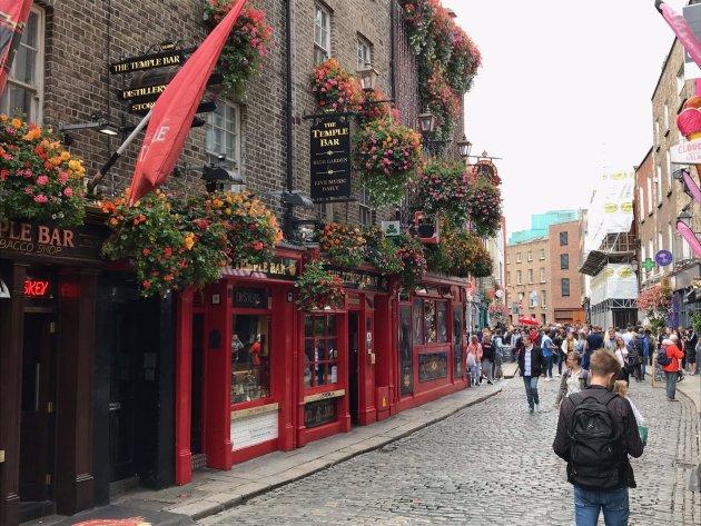 Dublin is ECHT gezellig.