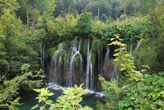 heel veel watervallen