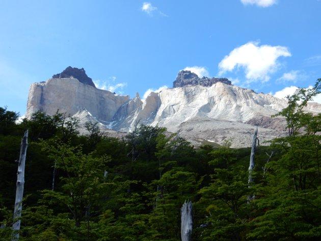 De machtige Mirador Británico in Patagonië