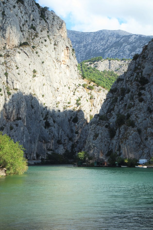 canyon bij Omiš