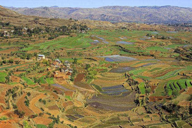 Hooglanden rondom Antsirabe