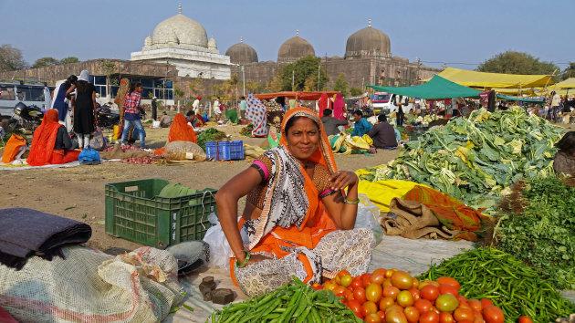Markt in Mandu
