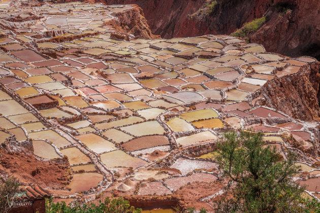 Zoutterrassen van Salineras de Maras