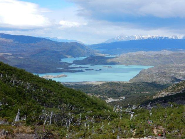 De uitgestrektheid van Patagonië