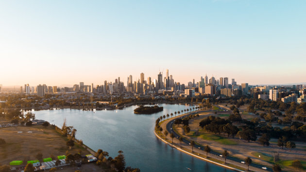 Formule 1 circuit Melbourne