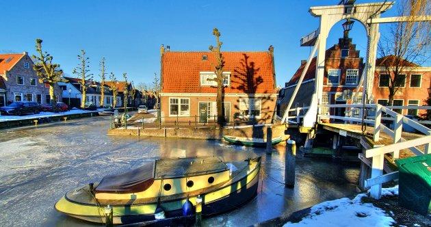 Monnickendam in winter
