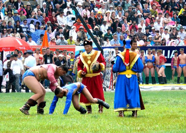 Mongools worstelen